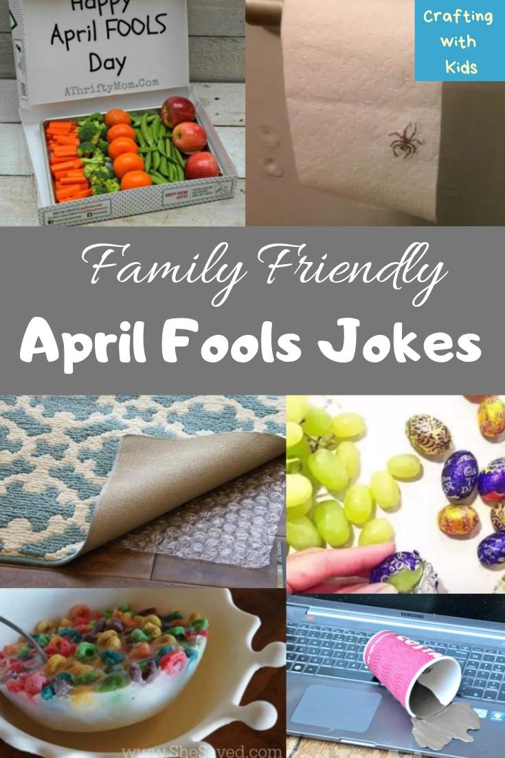 Family Friendly April Fools Pranks for Kids